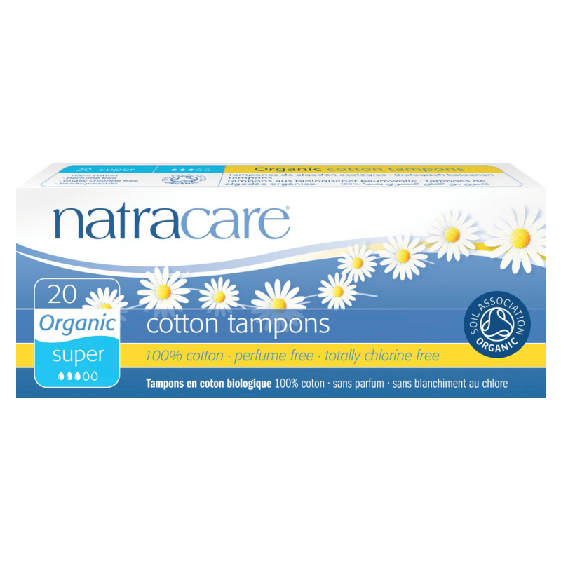 NATRACARE TAMPÓNY SUPER 20 KS