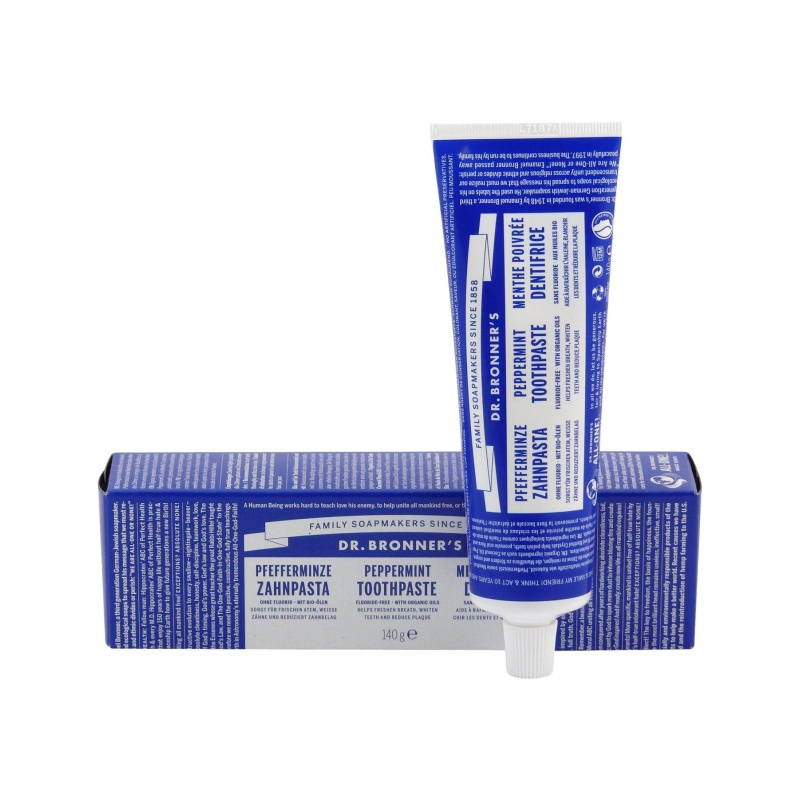 Dr. Bronner's Zubní pasta Peppermint