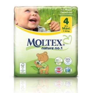 Plenky Moltex nature no.1 Maxi 7-18 kg (30 ks)