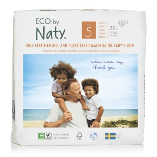Plenky Naty Junior 11-25 kg (22 ks)